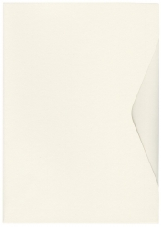 Offertmappe Prestige - A4, Karton 270 g/qm, elfenbein, 2 Stück
