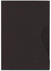 Offertmappe Prestige - A4, Karton 270 g/qm, schwarz, 2 Stück
