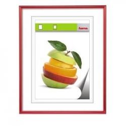 Kunststoff-Bilderrahmen SEVILLA - 70 x 100 cm, rot