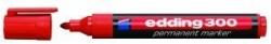 300 Permanentmarker - nachfüllbar, 1,5 - 3 mm, rot