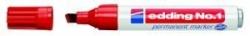 No.1 Permanentmarker - nachfüllbar, 1 - 5 mm, rot