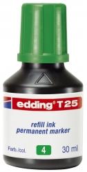 T 25 Nachfülltusche für Permanentmarker, 30 ml, grün