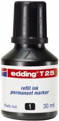 T 25 Nachfülltusche für Permanentmarker, 30 ml, schwarz