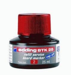 BTK 25 Nachfülltusche - für Boardmarker, 25 ml, rot
