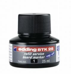 BTK 25 Nachfülltusche - für Boardmarker, 25 ml, schwarz