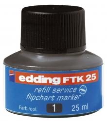 FTK 25 - Nachfülltusche, 25 ml, schwarz