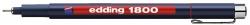 1800 Faserzeichner profipen - 0,25 mm, rot