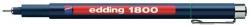 1800 Faserzeichner profipen - 0,7 mm, grün