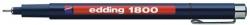 1800 Faserzeichner profipen - 0,7 schwarz