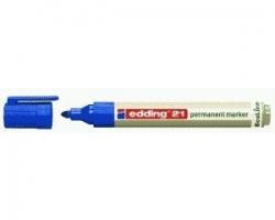 21 Permanentmarker EcoLine - nachfüllbar, 1,5 - 3 mm, blau