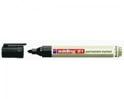 21 Permanentmarker EcoLine - nachfüllbar, 1,5 - 3 mm, schwarz