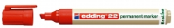 22 Permanentmarker EcoLine - nachfüllbar, 1 - 5 mm, rot