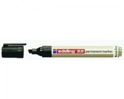 22 Permanentmarker EcoLine - nachfüllbar, 1 - 5 mm, schwarz