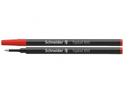 Tintenrollermine Topball 850 - 0,5 mm, rot