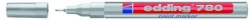 780 Lackmarker - 0,8 mm, silber