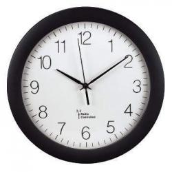 Funkwanduhren - Ø 30 cm, schwarz