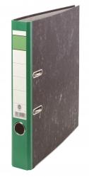 Ordner Wolkenmarmor - A4, 50 mm, grün