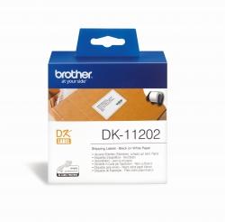 DK-Einzeletiketten Papier-Etiketten 300 Versand-Etiketten 62x100 mm