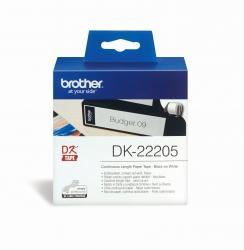 DK-Endlosetiketten Papier-Etiketten 62 mm x 30,48 m weiß