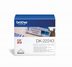 DK-Endlosetiketten Papier-Etiketten: DK-22243 102 mm x 30,48 m weiß