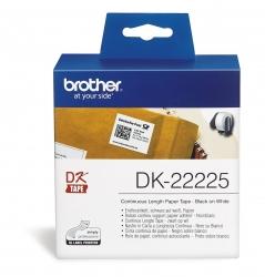 DK-Endlosetiketten Papier-Etiketten 38 mm x 30,48 m weiß