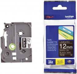 TZe-335 Schriftbandkassette - laminiert, 12 mm x 8 m, weiß auf schwarz