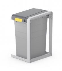 Erweiterungseinheit Mülltrennsystem ProfiLine Öko XL - 38 l, grau