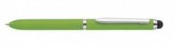 Kugelschreiber Multi Touch Pen 3 in 1 - grün