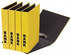 Bankordner Color-Einband - A4 , 50 mm, Color Einband, gelb