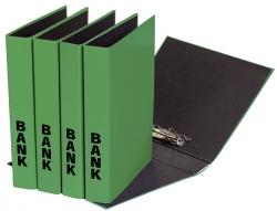 Bankordner Color-Einband - A4 , 50 mm, Color Einband, grün