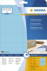 5060 Etiketten - blau, 105 x 42,3 mm, Papier, matt, 280 Stück, ablösbar