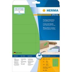 5061 Etiketten - grün, 105 x 42,3 mm, Papier, matt, 280 Stück, ablösbar