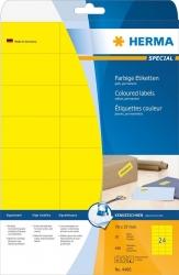 4466 Etiketten A4 gelb 70x37 mm Papier matt 480 St.
