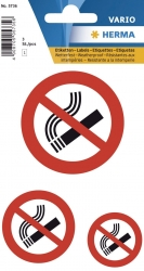 5736 Hinweisetiketten Nicht rauchen - wetterfest