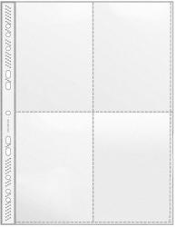 Sammelhülle - A4, 4-tlg., Pack 100 Stück