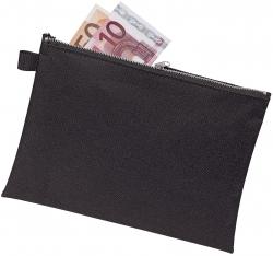 Bank- / Transporttasche - für A5, Stoff, schwarz