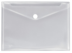 Dokumentenhülle Serie Crystal - transparent, für A4, PP-Folie