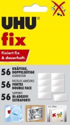 fix Klebekissen - doppelseitig, dauerhaft, 56 Stück