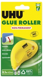 Einwegkleberoller DRY & CLEAN - non permanent, 8,5 m x 6,5 mm