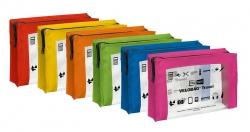 Reißverschlusstasche VELOCOLOR® Travel - PVC, sortiert, 230 x 160 mm