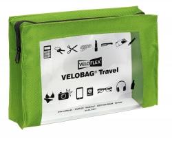 Reißverschlusstasche VELOCOLOR® Travel - PVC, grün, 230 x 160 mm