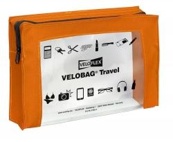 Reißverschlusstasche VELOCOLOR® Travel - PVC, orange, 230 x 160 mm