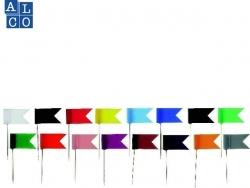 Markierfahne, 35 x 18 mm, dunkelblau, Dose 20 Stück