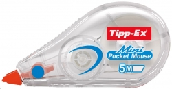 Korrekturroller Mini Pocket Mouse, 5 mm x 5 m