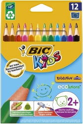 Buntstiftetui Kids Ecolutions Triangle - 12-farbig sortiert