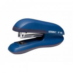 Heftgerät F16, Kunststoff, 20 Blatt, blau