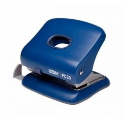 Starker Bürolocher FC30, Kunststoff/Metall, 30 Blatt, blau