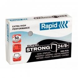 Heftklammern 24/8+mm Super Strong, verzinkt, 1000 Stück