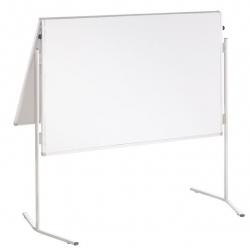 Moderationstafel ECO, 120 x 150 cm, weiß/kartonkaschiert, klappbar