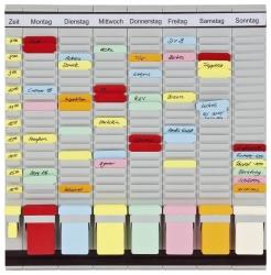 T-Kartentafel OfficePlaner, 47,4 x 49 cm